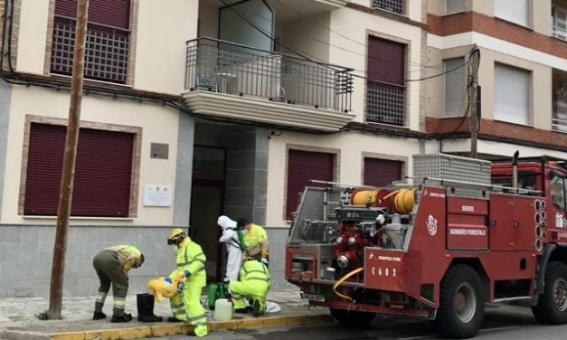 Un sanitario de Caudiel se aisla en una vivienda del Ayuntamiento