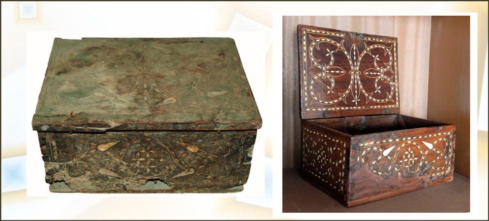 Asociación Seo de Segorbe restaura una Caja Morisca del siglo XVI