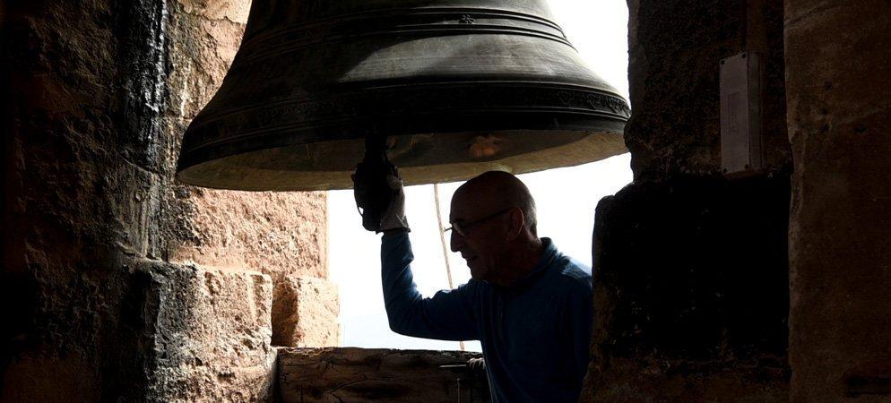 Las campanas de Segorbe tocan a duelo por los fallecidos del Covid