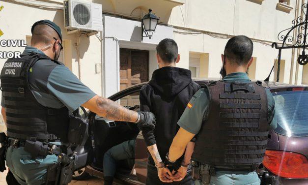 5 jóvenes son detenidos y 2 investigados en Segorbe por la Guardia Civil