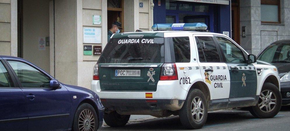 Efectivos de  Guardia Civil rescatan a una mujer secuestrada en  Segorbe