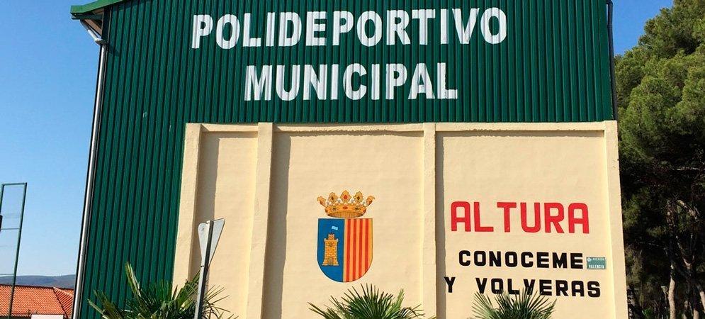 Altura reabre mañana las pistas de tenis del polideportivo municipal