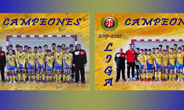 Los equipos infantil y cadete del CDFS son proclamados campeones de liga