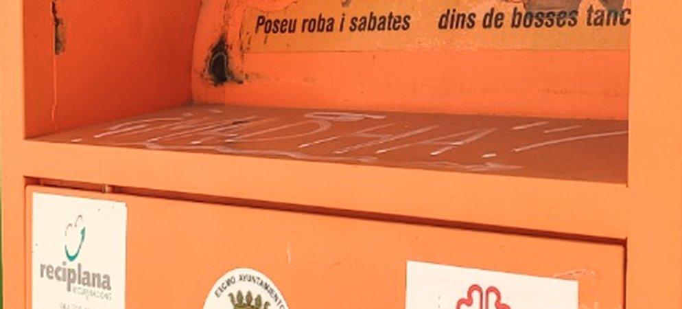 Koopera reanuda el servicio de recogida de ropa usada en Segorbe