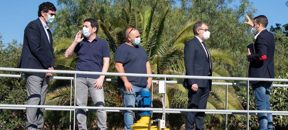 Vall y Algimia de Almonacid forman parte del proyecto «Covid Water»