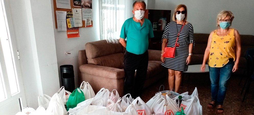 Los vecinos de Peñalba donan 215 K de alimentos a Cáritas