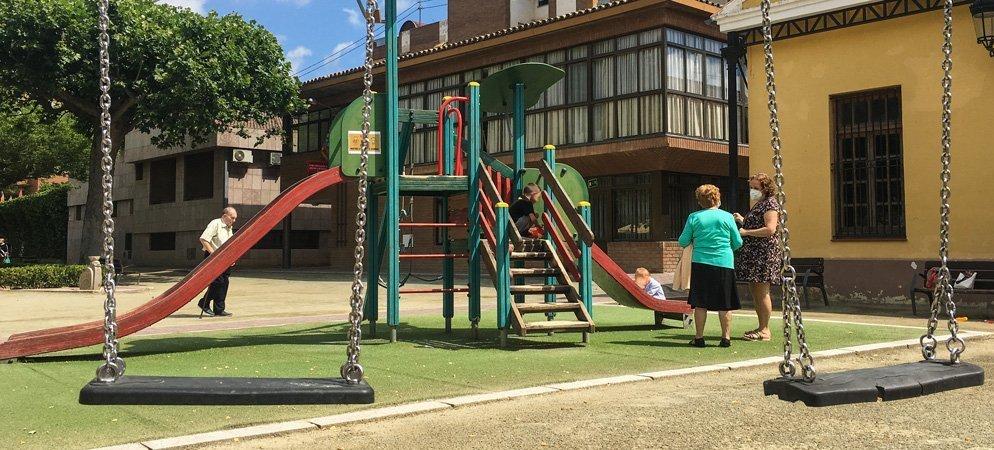 Los pueblos de la comarca reabren los parques infantiles