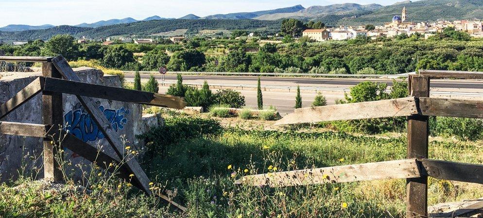 Destrozos en el área recreativa de El Batán de Altura
