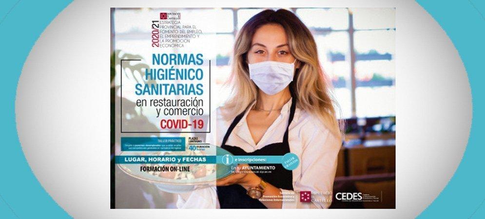 El Cedes Segorbe organiza un curso de normas sanitarias en restauración frente al Covid