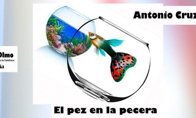Antonio Cruzans nos introduce en el poemario «El pez en la pecera»