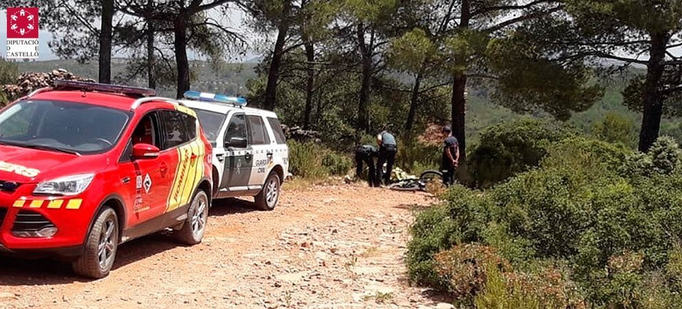 Rescatan a un ciclista muerto en una pista cercana al Pico del Aguila