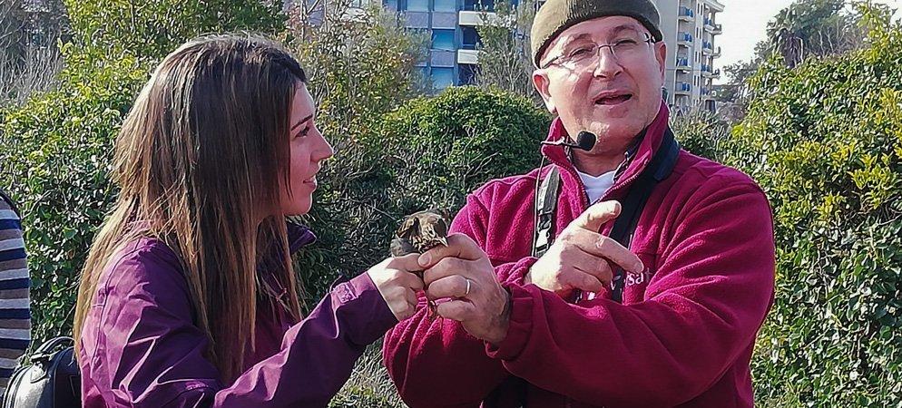 Los pueblos de la comarca sirven de base para una maratón ornitológia