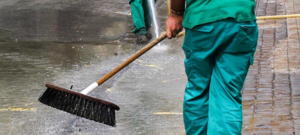 Geldo quiere contratar a un peón para limpiar edificios públicos