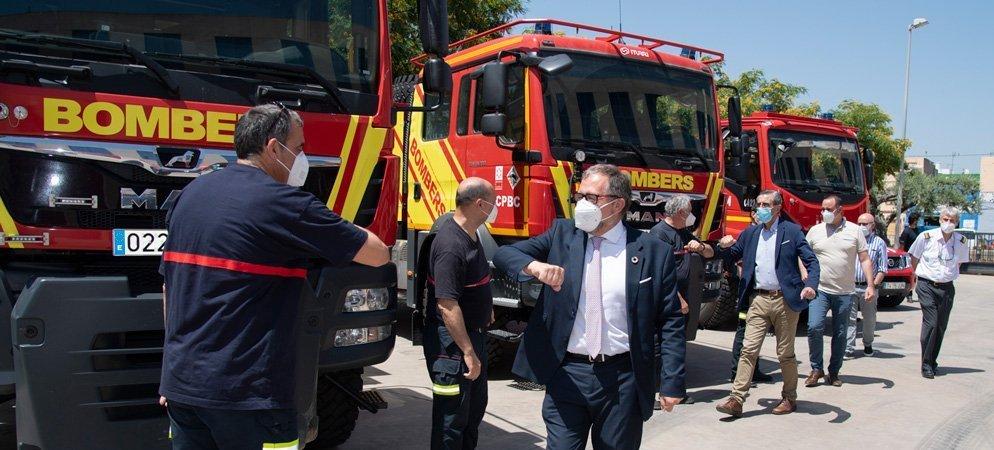 Diputación y Generalitat refuerzan los medios contra incendios