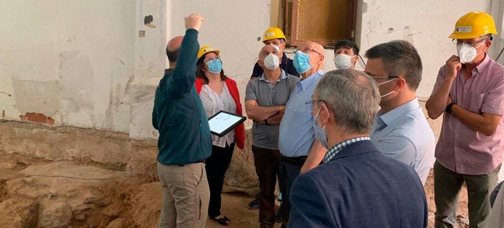 Soneja quiere poner en valor el templo paleocristiano descubierto en la localidad