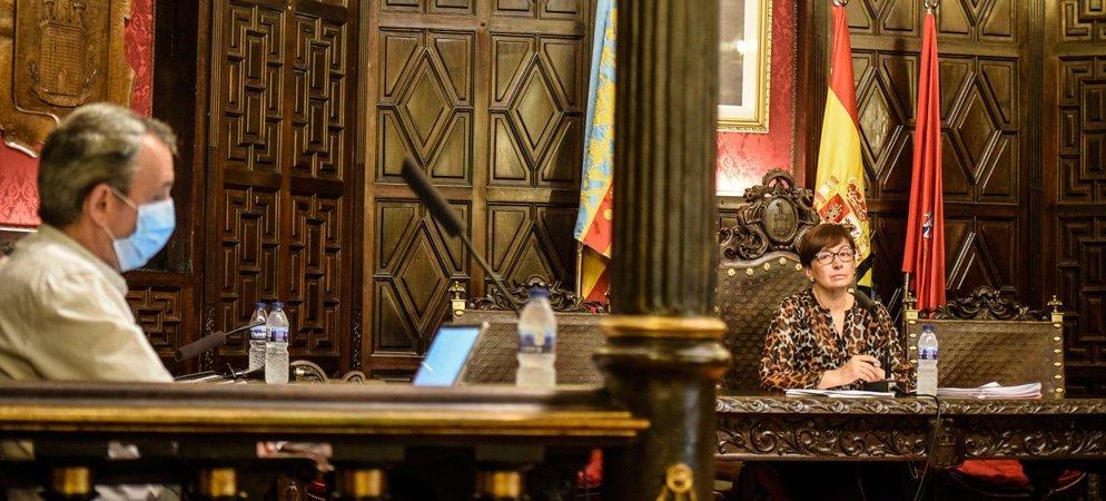 Magdalena reiteró en el pleno que el patrimonio es de «cartón piedra»