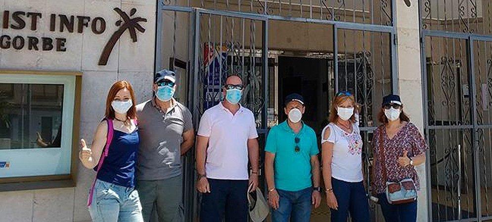 Los primeros turistas llegan a Segorbe desde Alicante