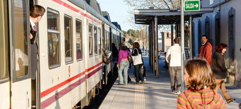 EUPV reivindica un incremento de trenes de cercanías en el Alto Palancia