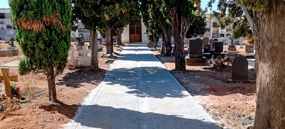 Mejoran los servicios y aspecto del Cementerio de Sot de Ferrer