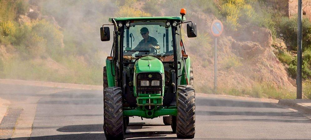 Altura aumenta la desinfección de calles debido a los repuntes del covid