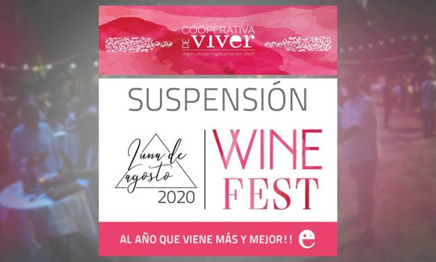 La Cooperativa de Viver suspende la Wine Fest 2020