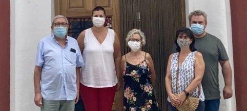 Patricia Puerta se reúne con los alcaldes de Teresa y Sacañet