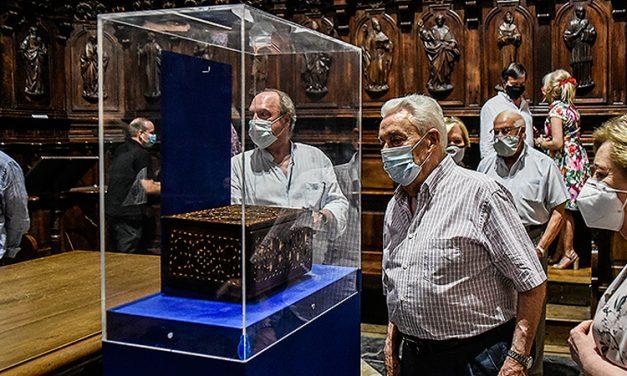 Fundación Seo restaura una arqueta de reliquias del siglo XVI