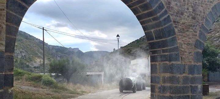 La avalancha de turistas lleva al PP de Bejís a pedir desinfecciones