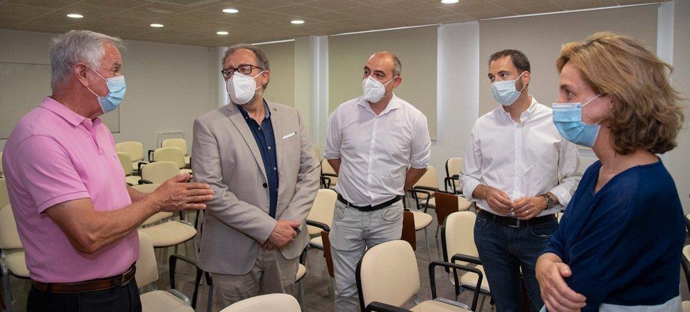 Martí visita las obras financiadas en Barracas y Villanueva de Viver