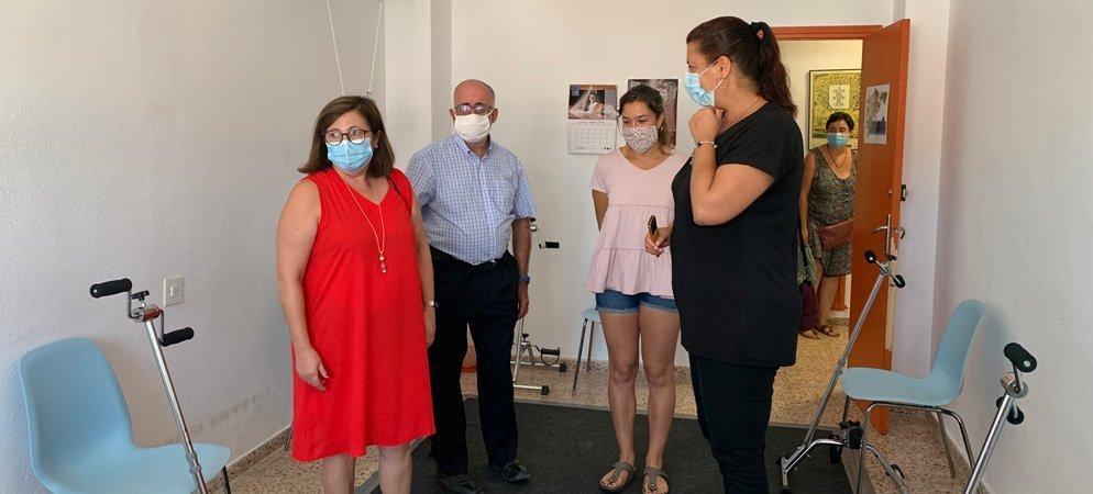 Patricia Puerta visita diversas instalaciones en Viver
