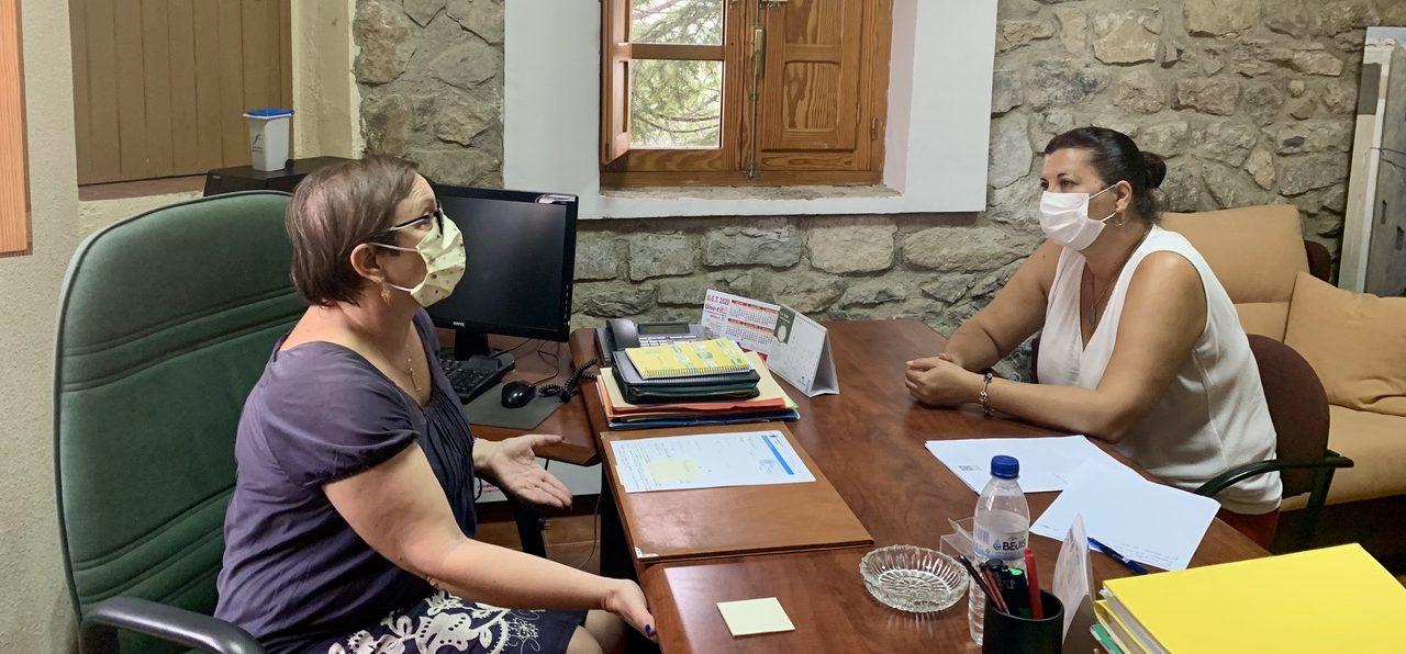 Diputación pone en marcha nuevos servicios en Torás y Bejís