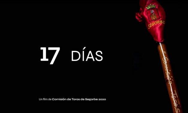 La Comisión de Toros 2020 hace un nostálgico documental titulado «17 días»