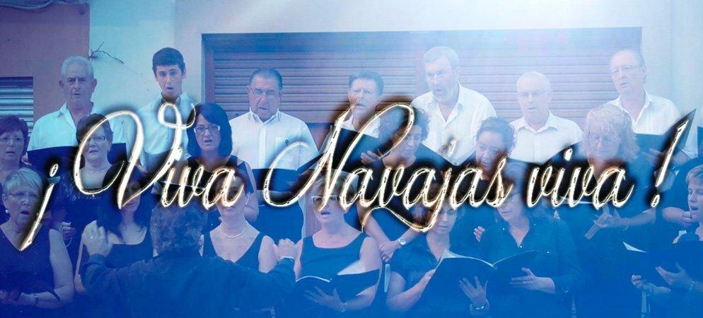 La Coral de Navajas ofrecerá el sábado un concierto al aire libre