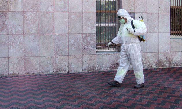 Segorbe desinfecta diariamente los lugares más concurrridos