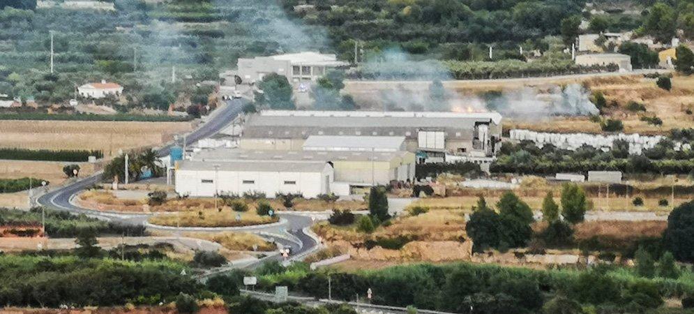 Incendios en Jérica y Castellnovo