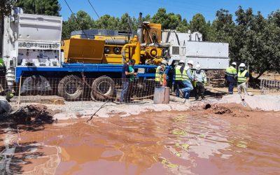 Sondearan el agua del pozo horadado para abastecer a Soneja y Sot