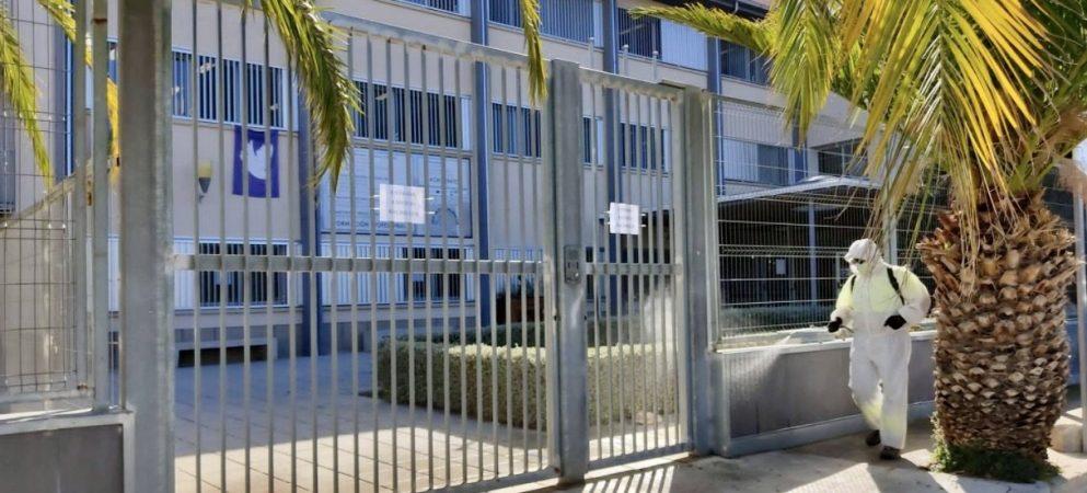 Limpieza y desinfección de colegios en Segorbe