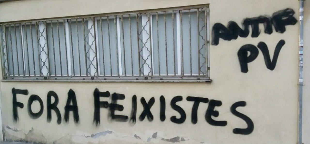 El PP denuncia ataques y pintadas en su sede