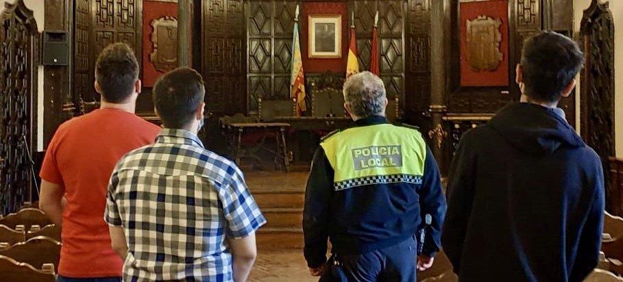 La plantilla de la Policia Local de Segorbe aumenta con 3 interinos y 6 altas médicas