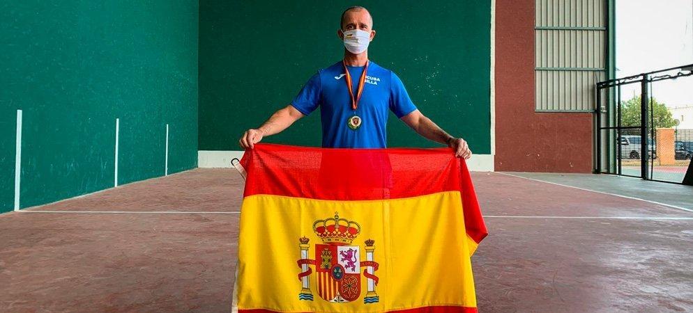 Entrevista al campeón de España de frontenis preolímpico