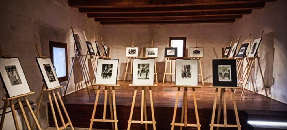 Geldo abre en el Palacio una exposición de fotografías antiguas