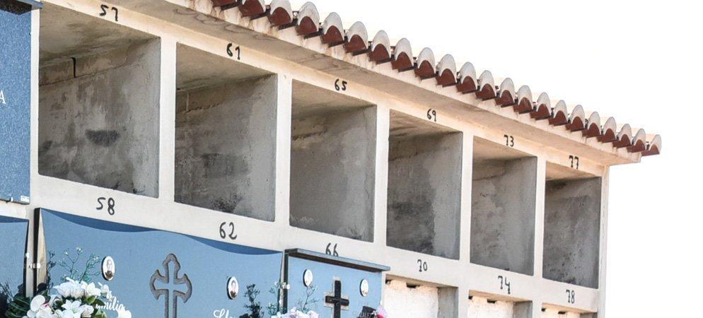 Construyen nuevos nichos en el Cementerio Municipal de Segorbe
