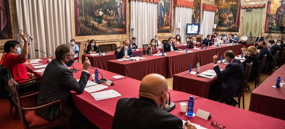Los partidos logran el consenso en Diputación