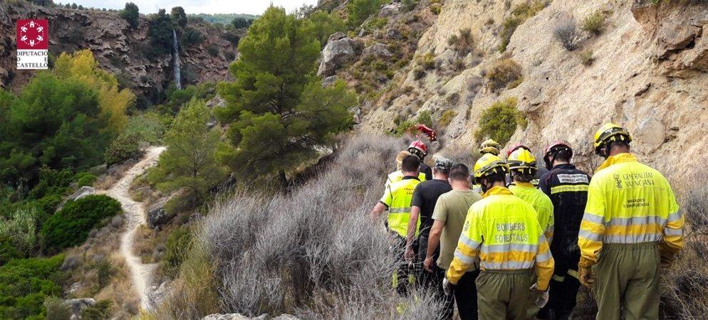 Una mujer tuvo que ser rescatada en Navajas por los bomberos