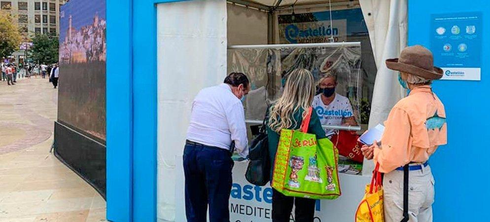 Segorbe y la Mancomunidad participan en el street marketing de Diputación