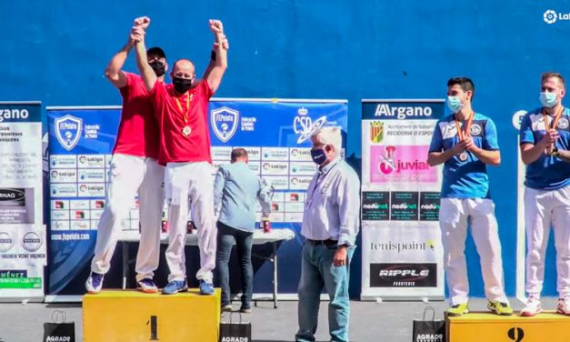 El alturano «Roa» se proclama Campeón de España de Frontenis preolímpico
