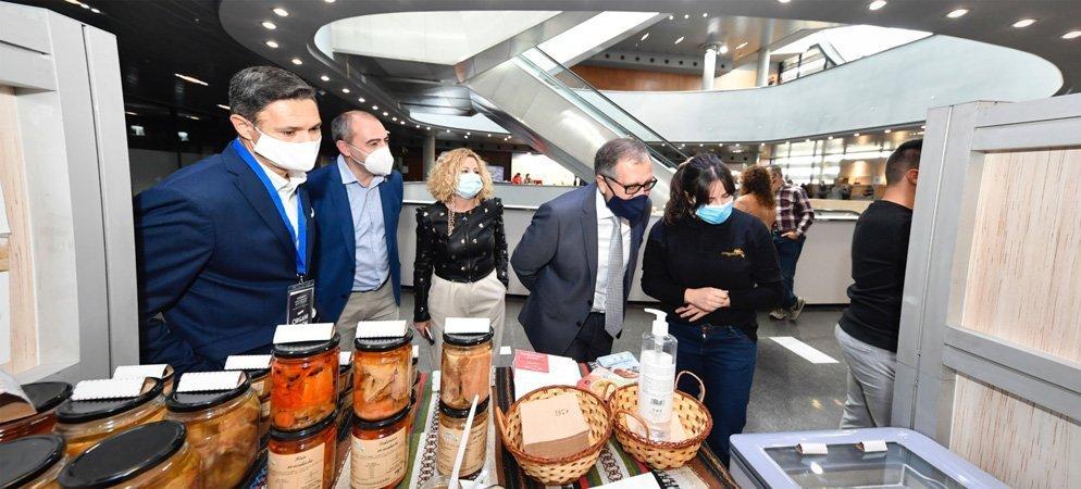 Los productos de «Castellón ruta del sabor» en la Feria de Valencia