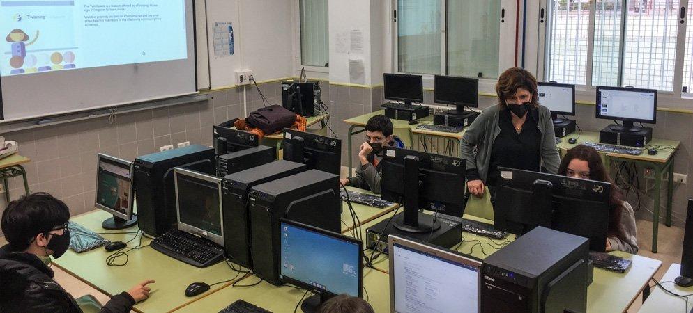 El alumnado del IES Cueva Santa vuelve a participar en el proyecto Erasmus+