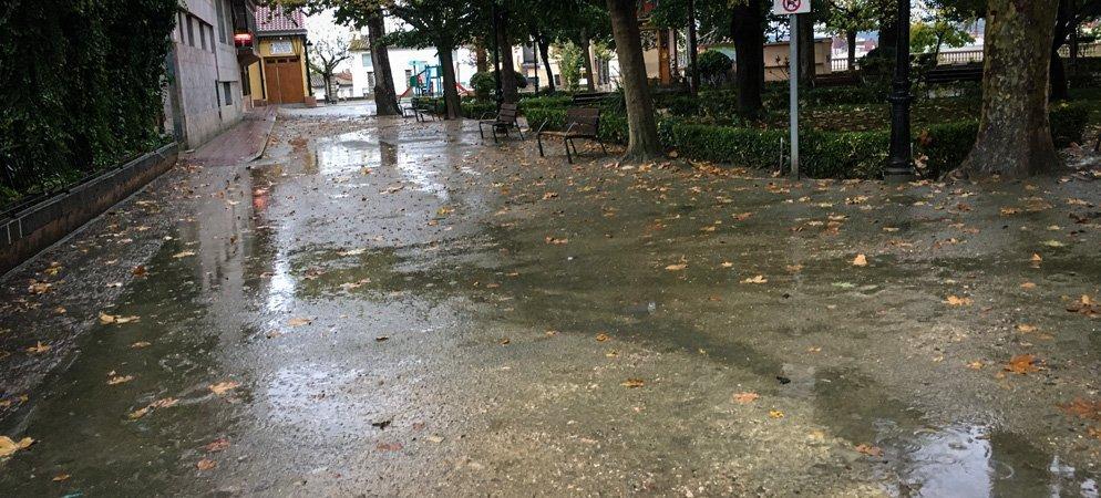 Segorbe duplica la media de lluvias caídas estos días de noviembre