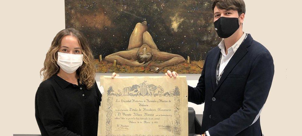 El segorbino Nestor Morente descubre al primer alcalde animalista